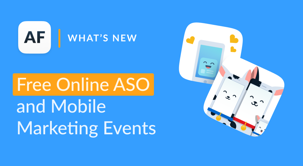 Free ASO and Mobile Marketing Online Events 2019