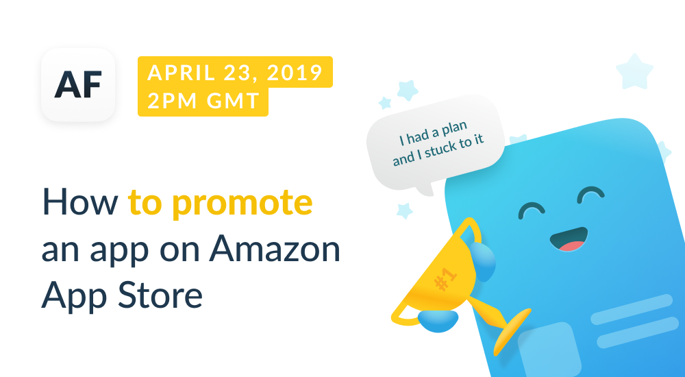 Webinar: How to Promote an App on Amazon App Store
