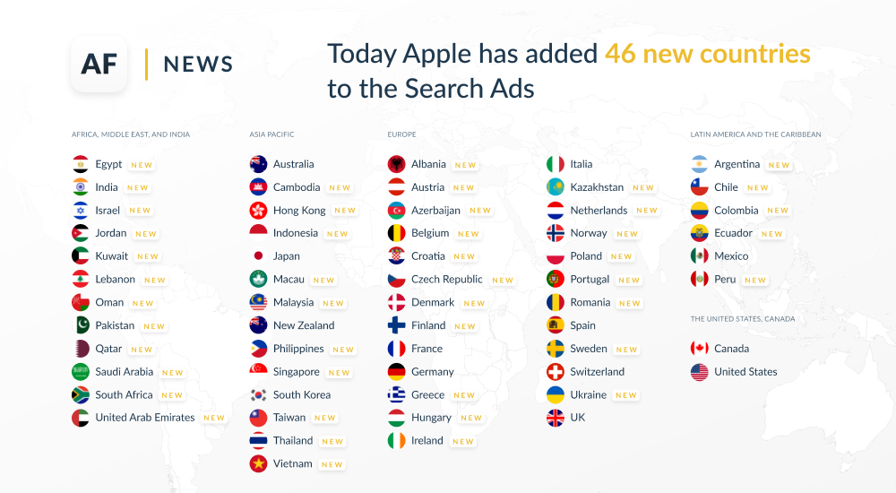 New Opportunities for App Advertising with Apple Search Ads
