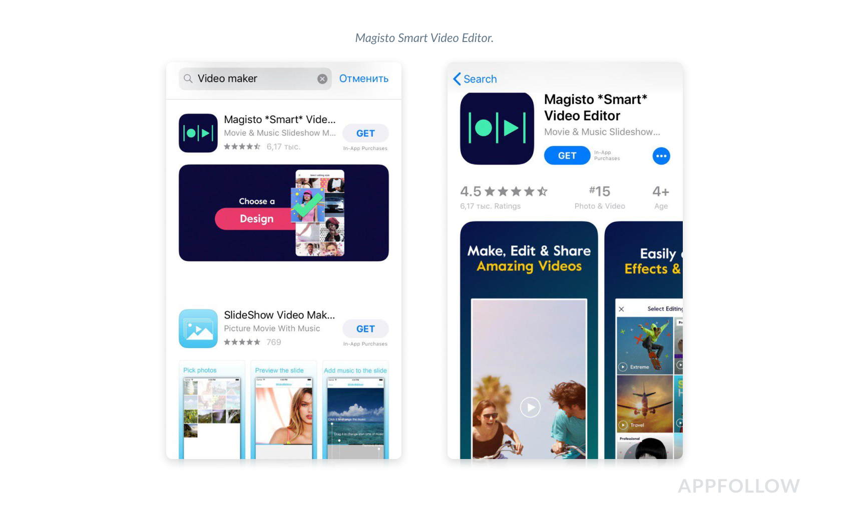 app screenshots for app store