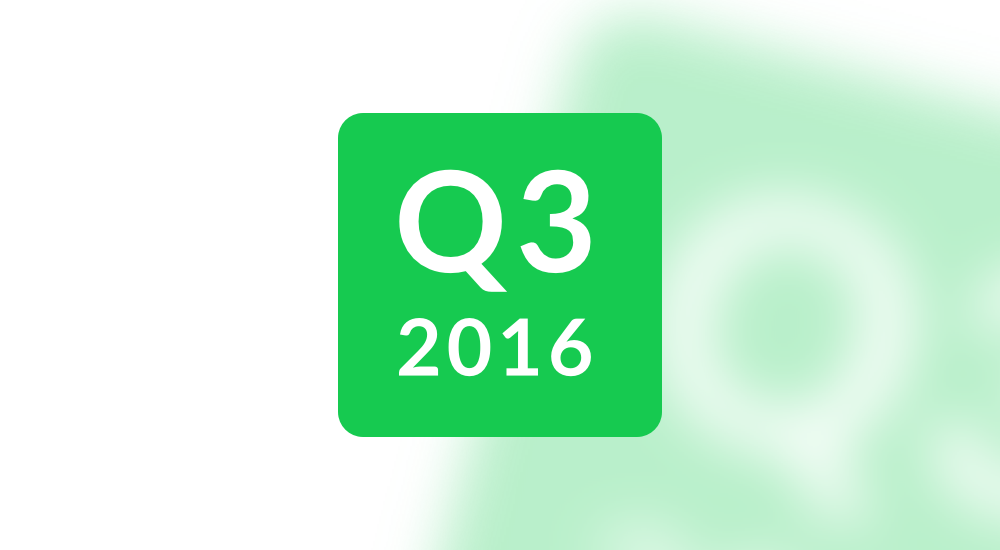 AppFollow quarterly results for Q3 2016