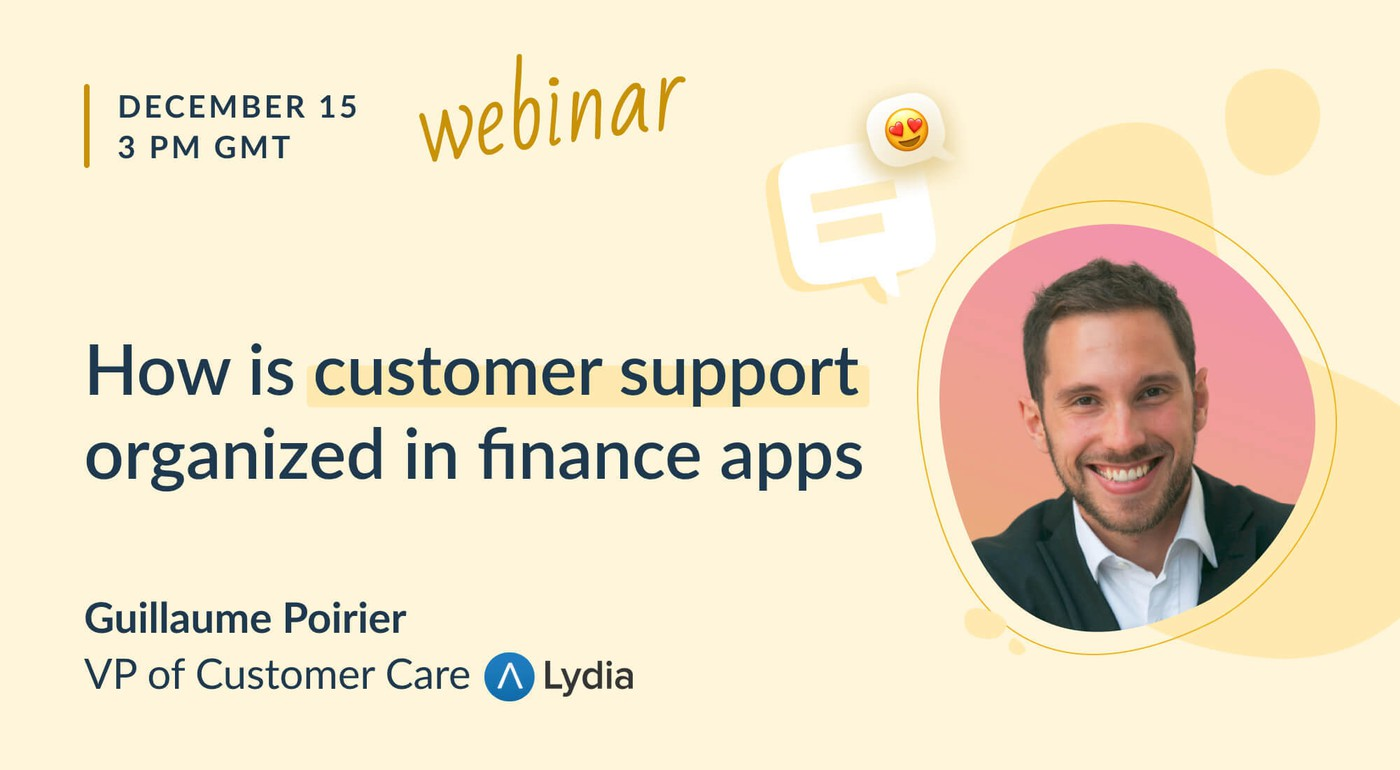 How is customer support organized in finance apps