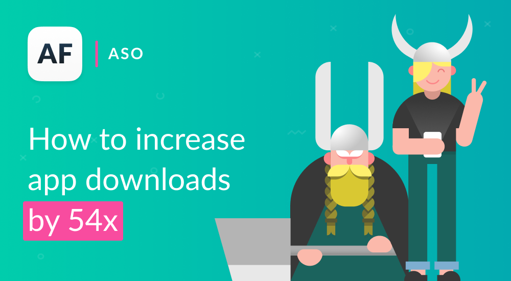 How to increase app downloads by 54x using localization