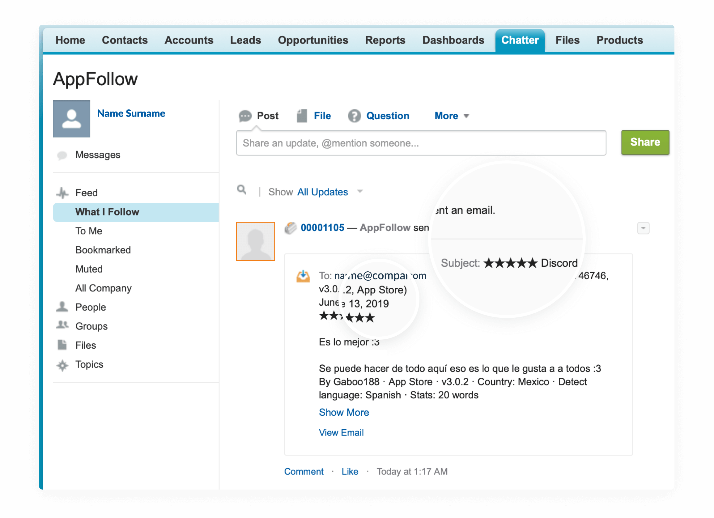 Manage app reviews in your Salesforce account