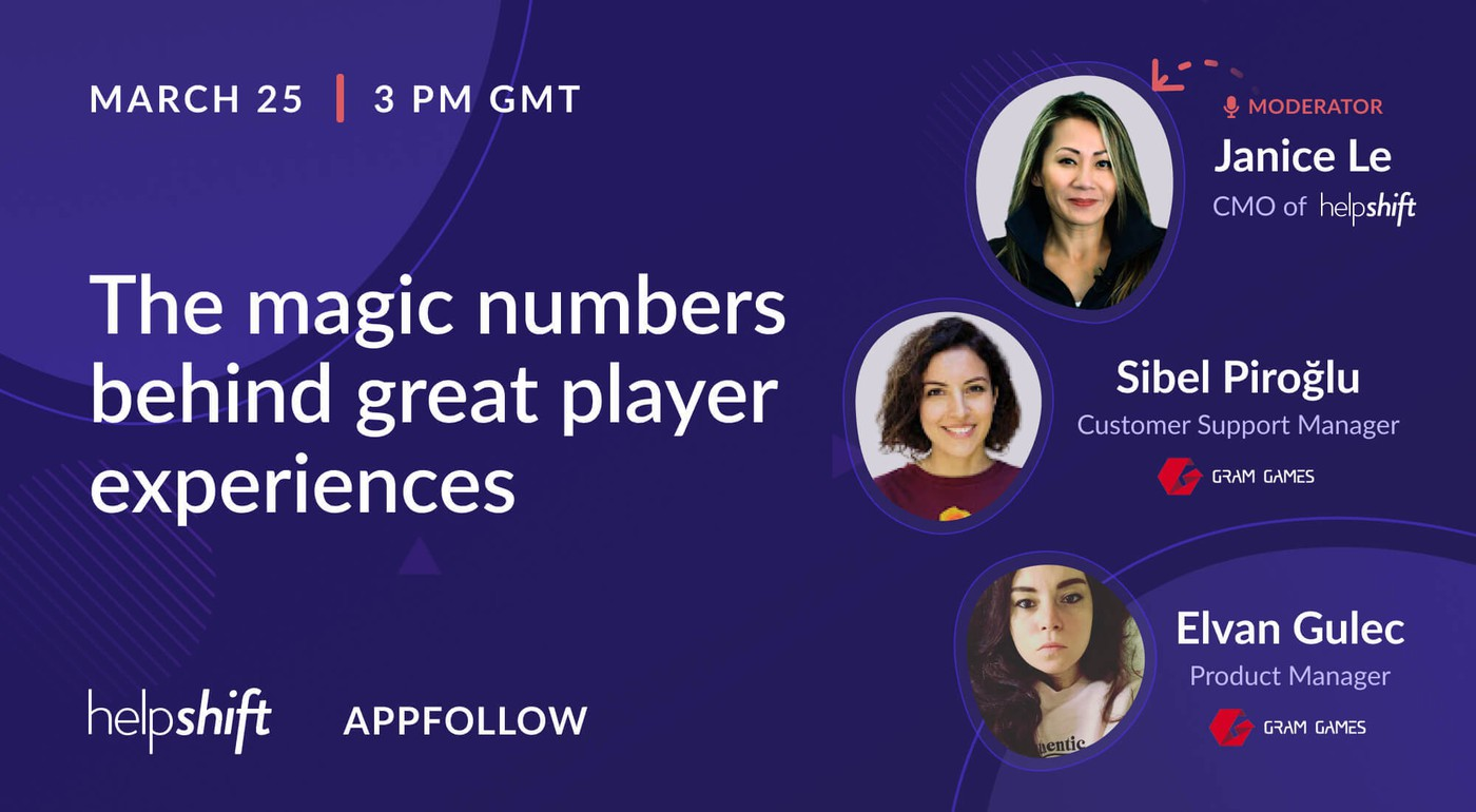 [Recording] The magic numbers behind great player experiences