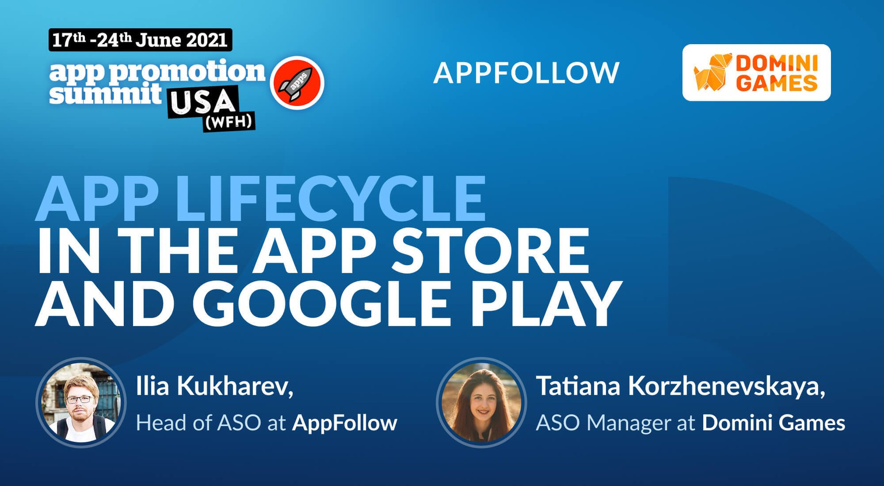 AppFollow and Domini Games host сo-session at App Promotion Summit USA