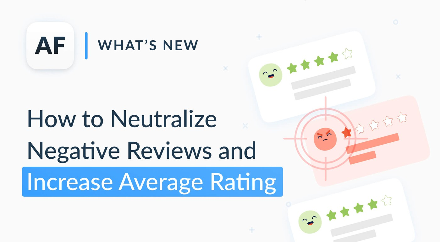 How to find and neutralize negative app reviews without damaging your average app rating