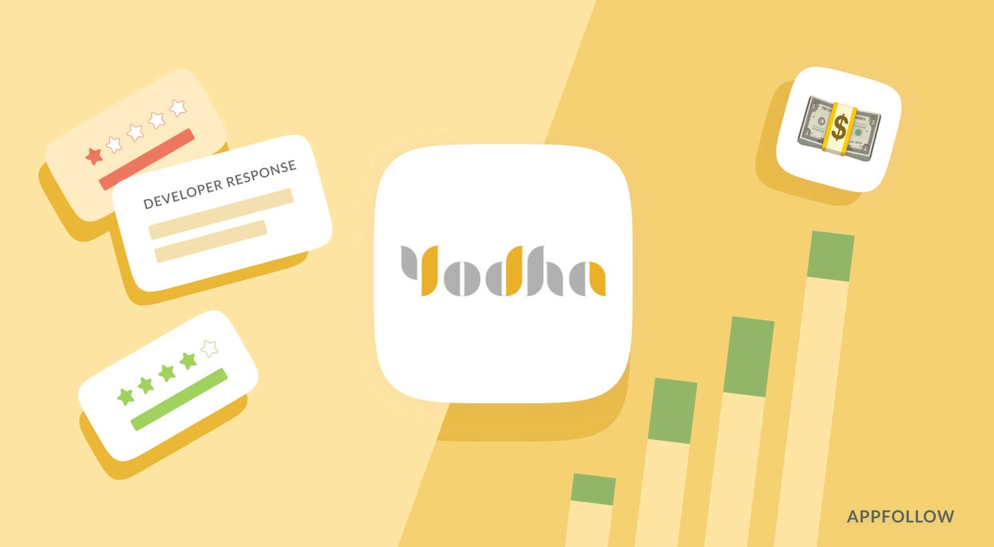 How Yodha services use AppFollow to increase their number of subscribers