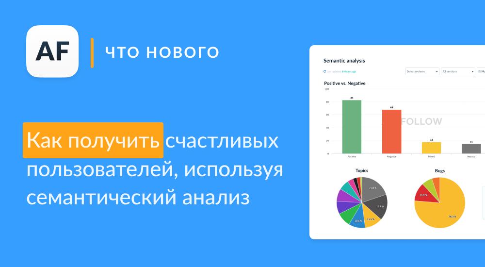 Semantic Analysis: быстрый способ определить проблемы пользователей