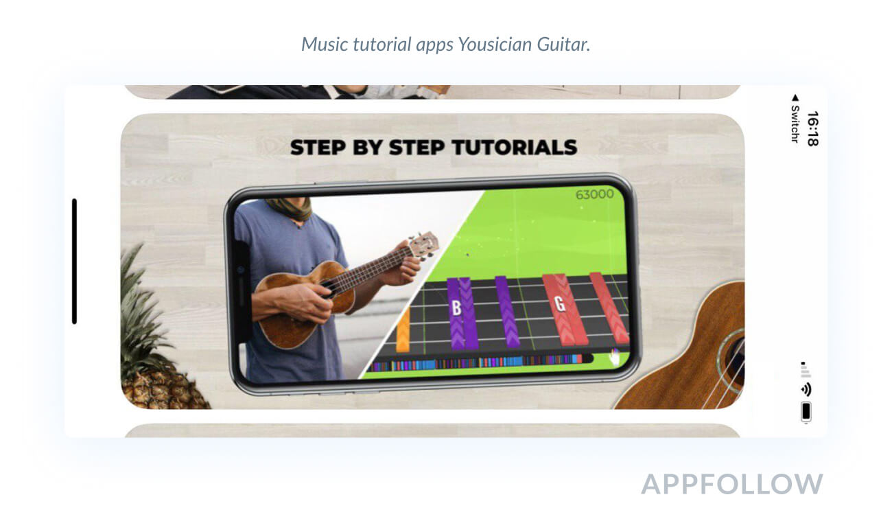 landscape app store iphone x screenshots