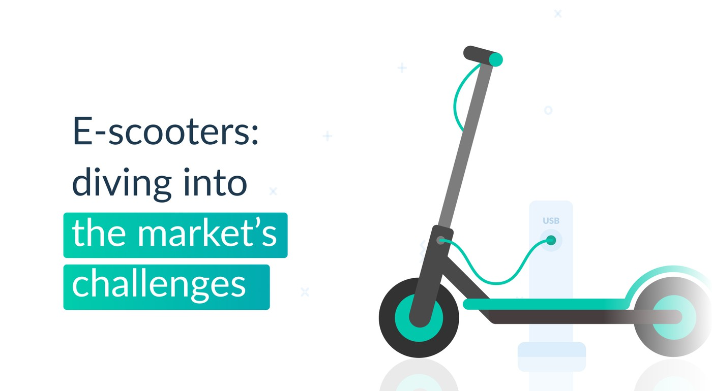 E-scooters: diving into the market's challenges and perspectives