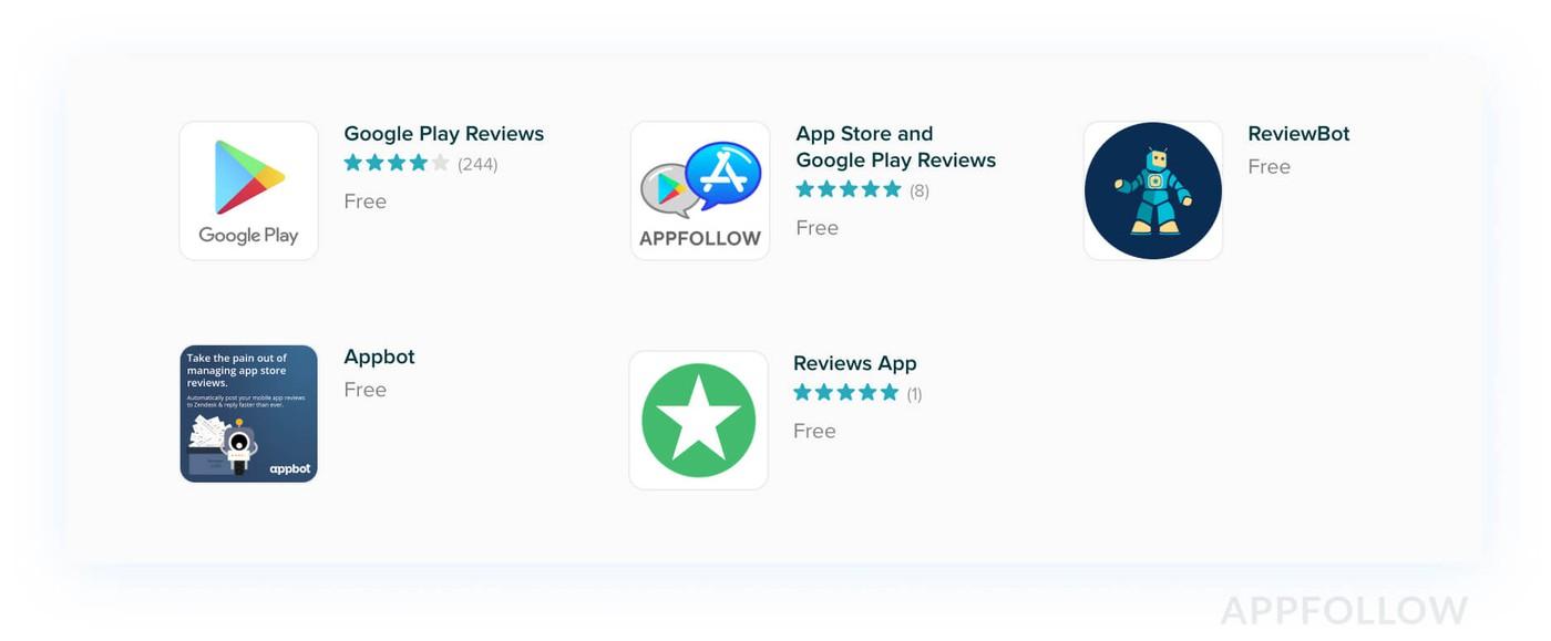 Apps for Zendesk
