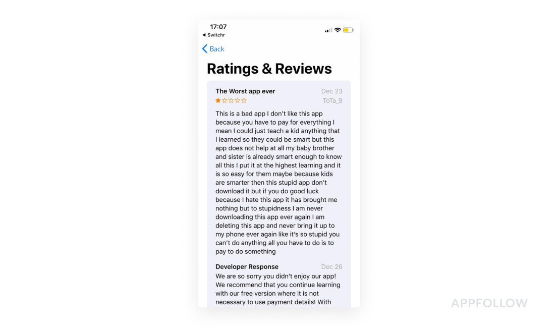 Replying to customer reviews helps to increase customer satisfaction