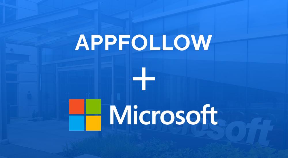 AppFollow + Microsoft = ❤️