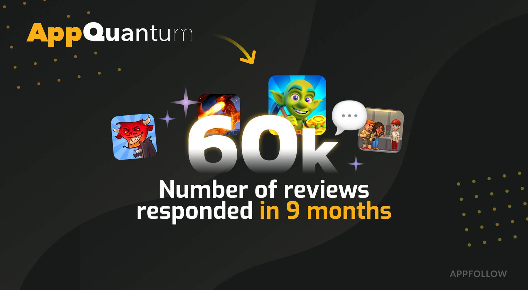 AppQuantum uses bulk actions to manage reviews in AppFollow