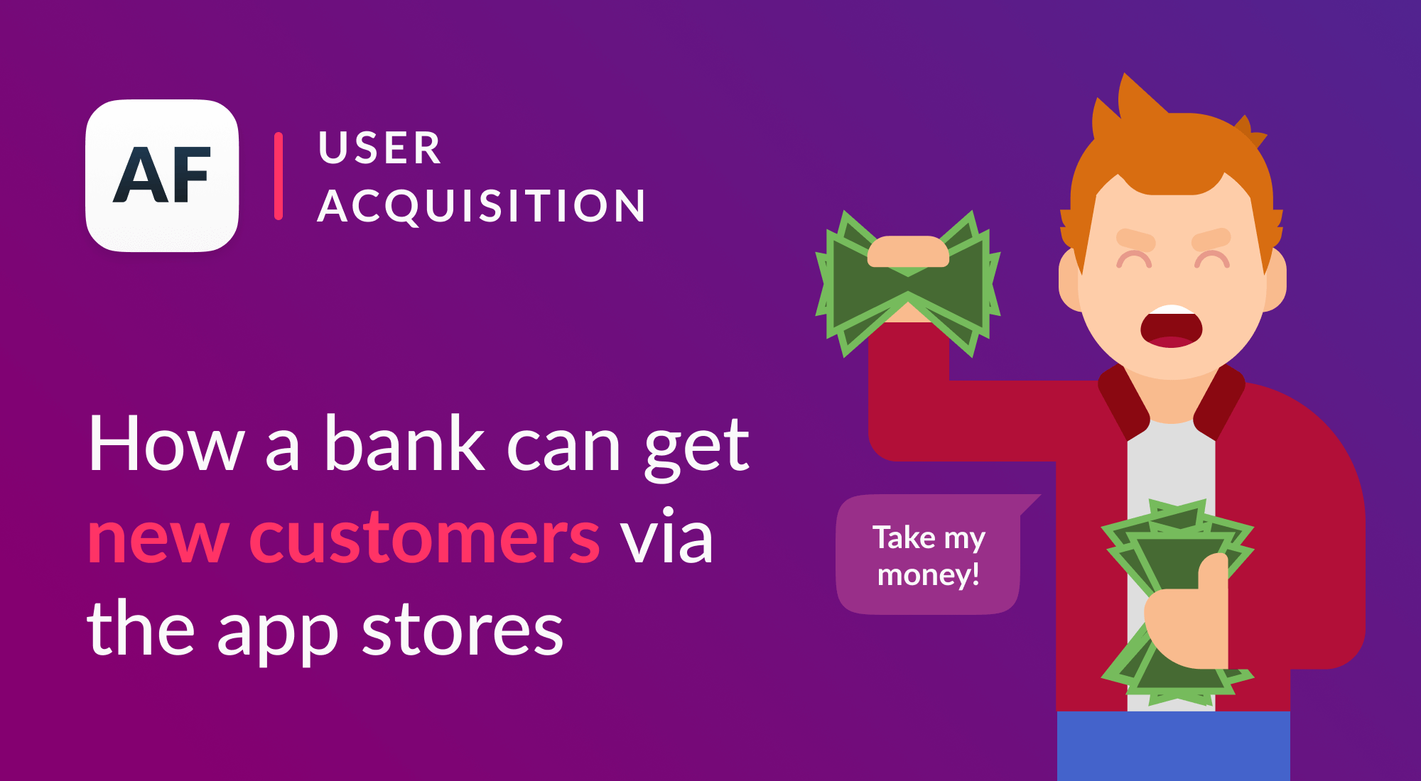 A surprising way for financial institutions to get new customers
