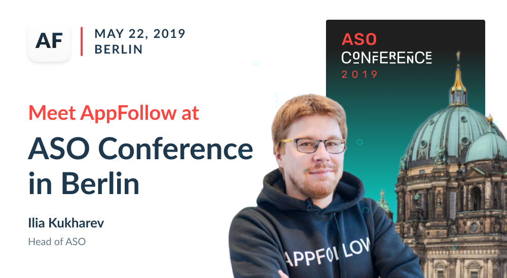 Meet AppFollow at ASO Conference in Berlin
