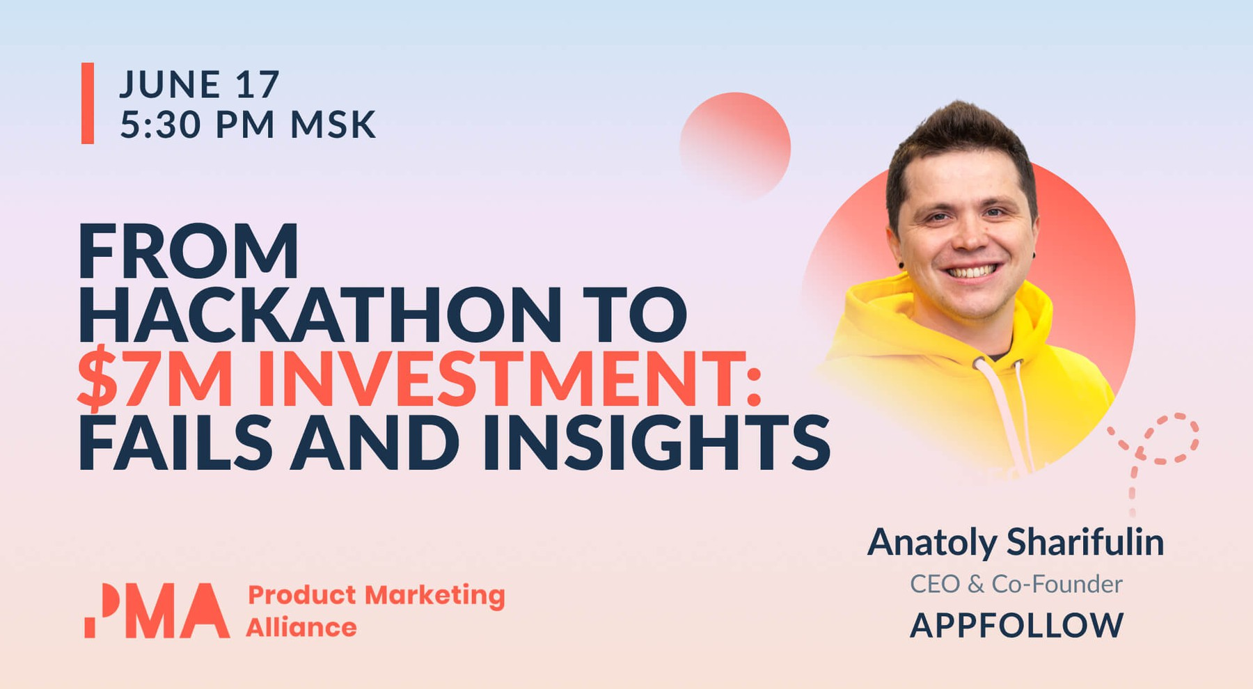 AppFollow's product launch story at Product Marketing Festival 2021