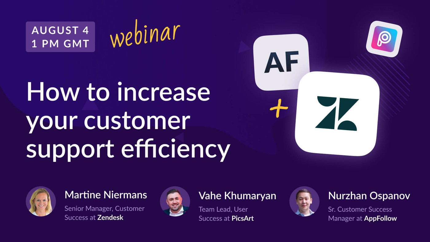 """How to increase customer support efficiency"" with Zendesk and PicsArt [Recording]"