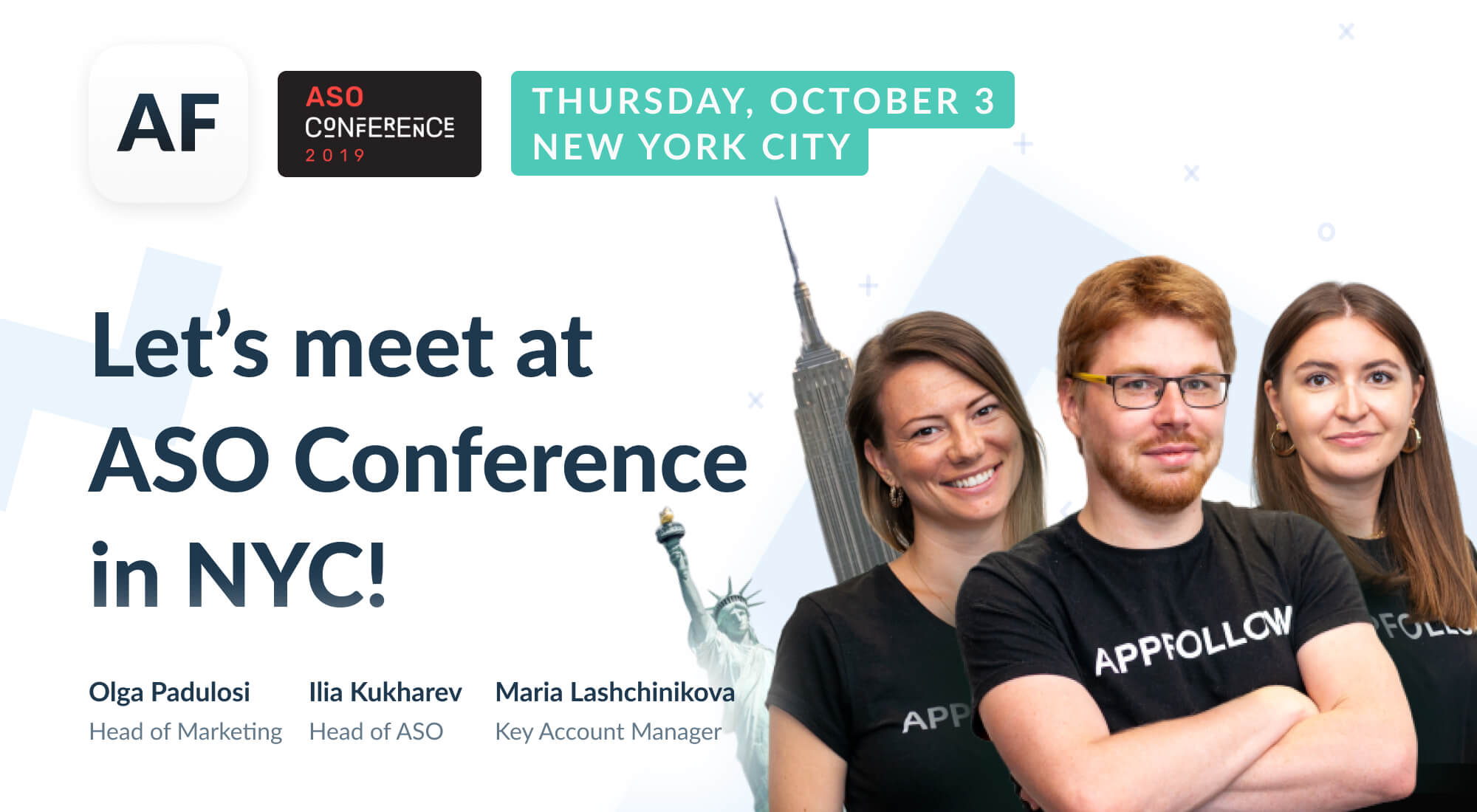 Meet AppFollow at ASO Conference in New York