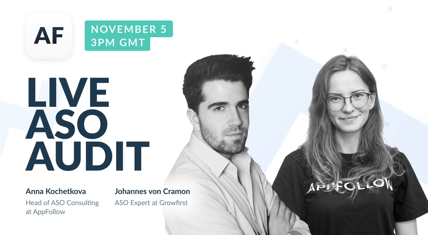 Webinar Recording: Live ASO Audit with AppFollow and Growfirst