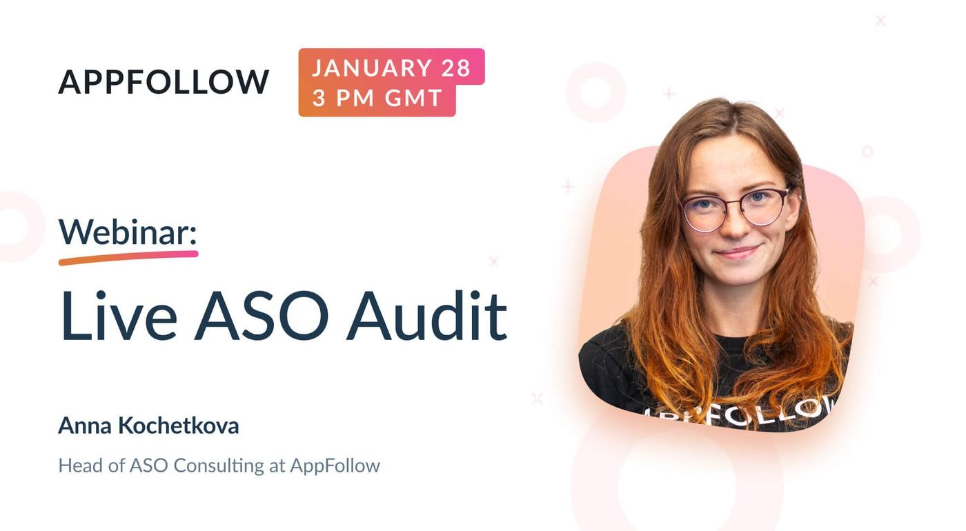Webinar: Live ASO Audit