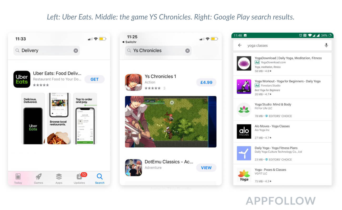 app store optimization screenshots