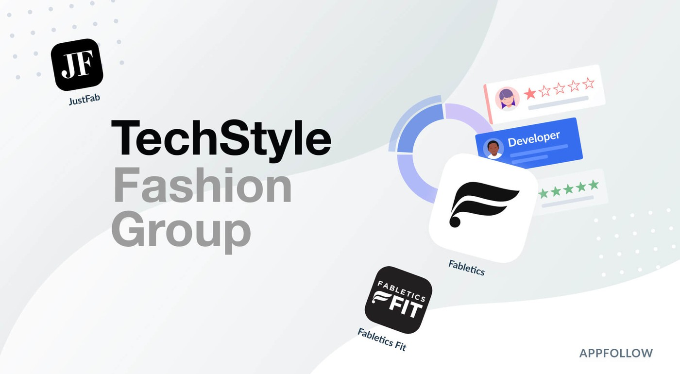 Techstyle tracks trending topics and sentiment for app review insights with AppFollow