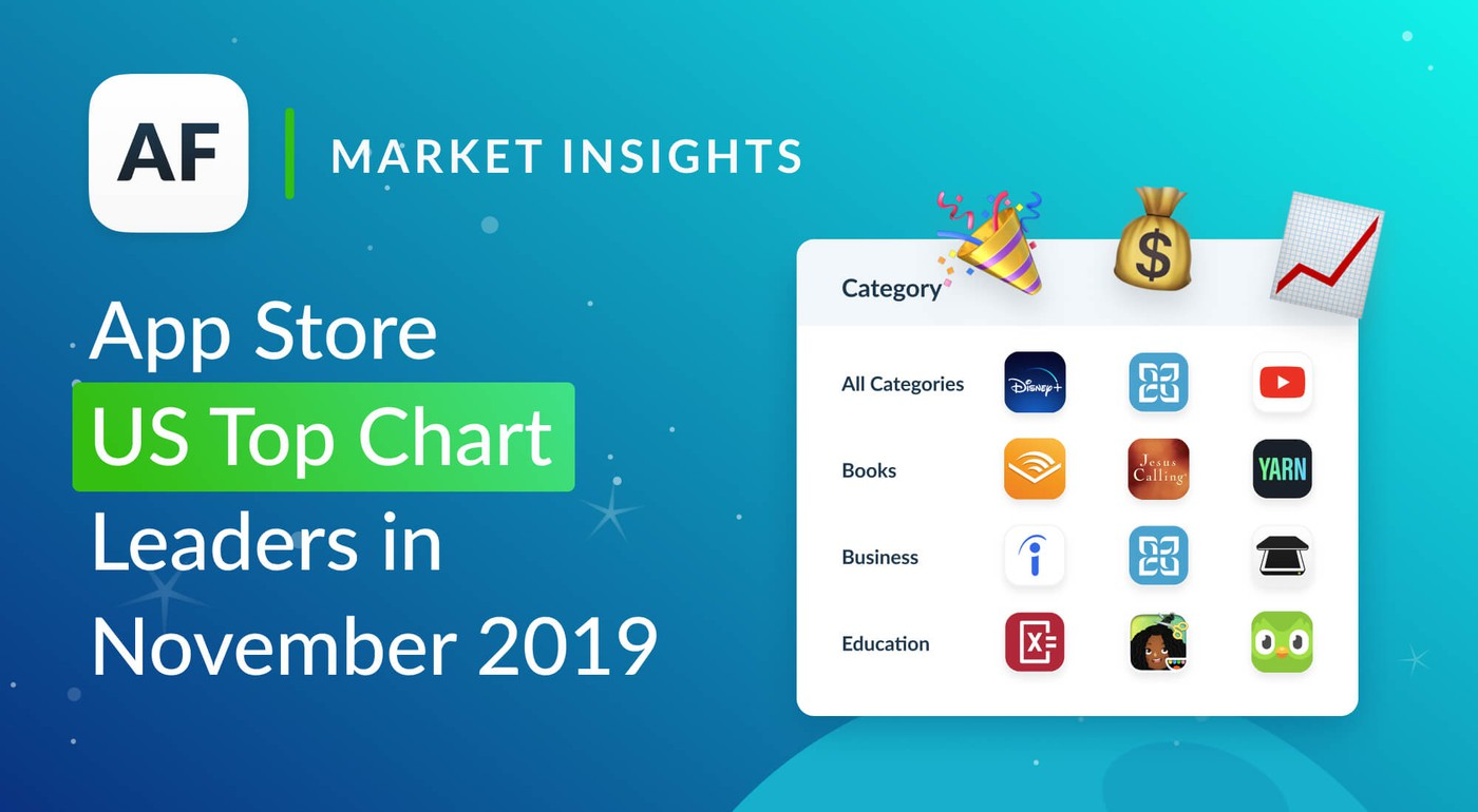 Top Apps and Games in The US App Store for November 2019
