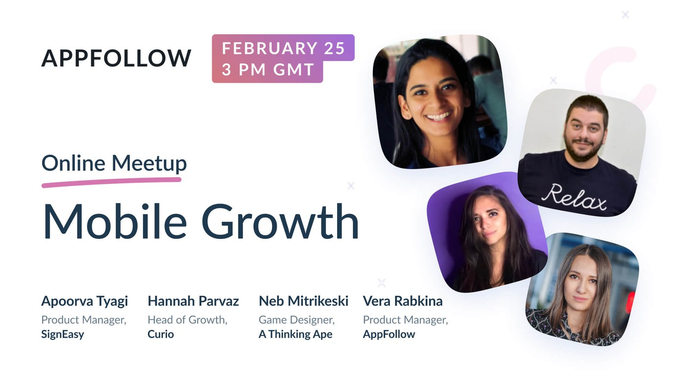 Mobile Growth Online Meetup [Recording]
