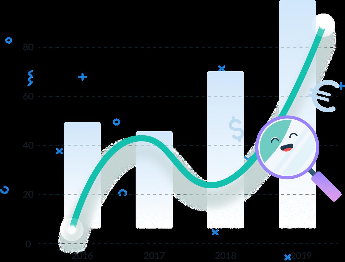 ダウンロードと収益分析ツール
