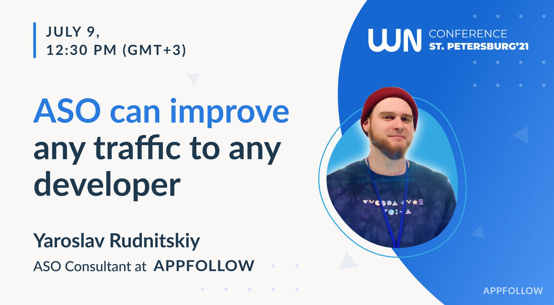 Mobile apps audit and ASO hacks from Appfollow at WN Conference St. Petersburg 2021