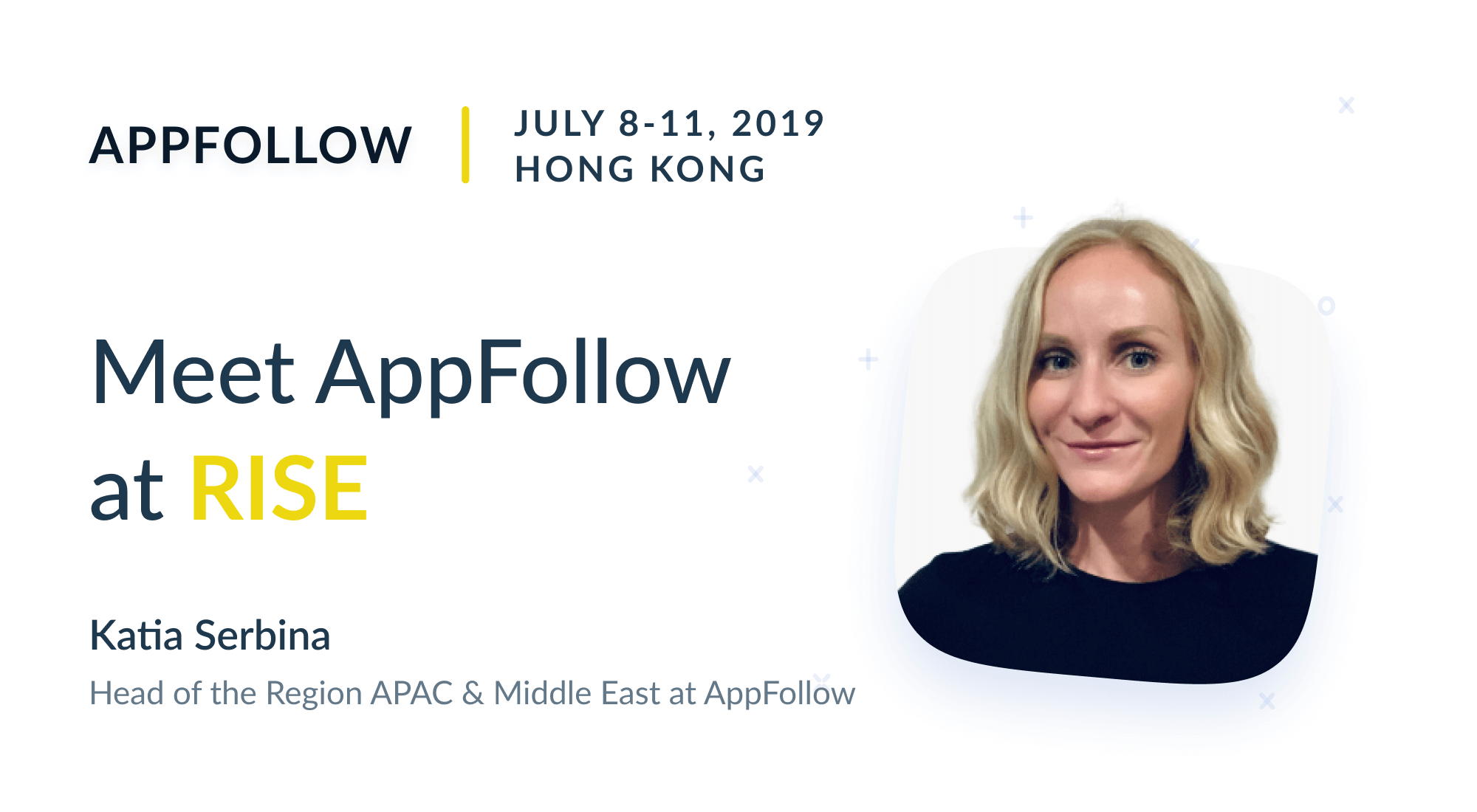Meet AppFollow at RISE in Hong Kong
