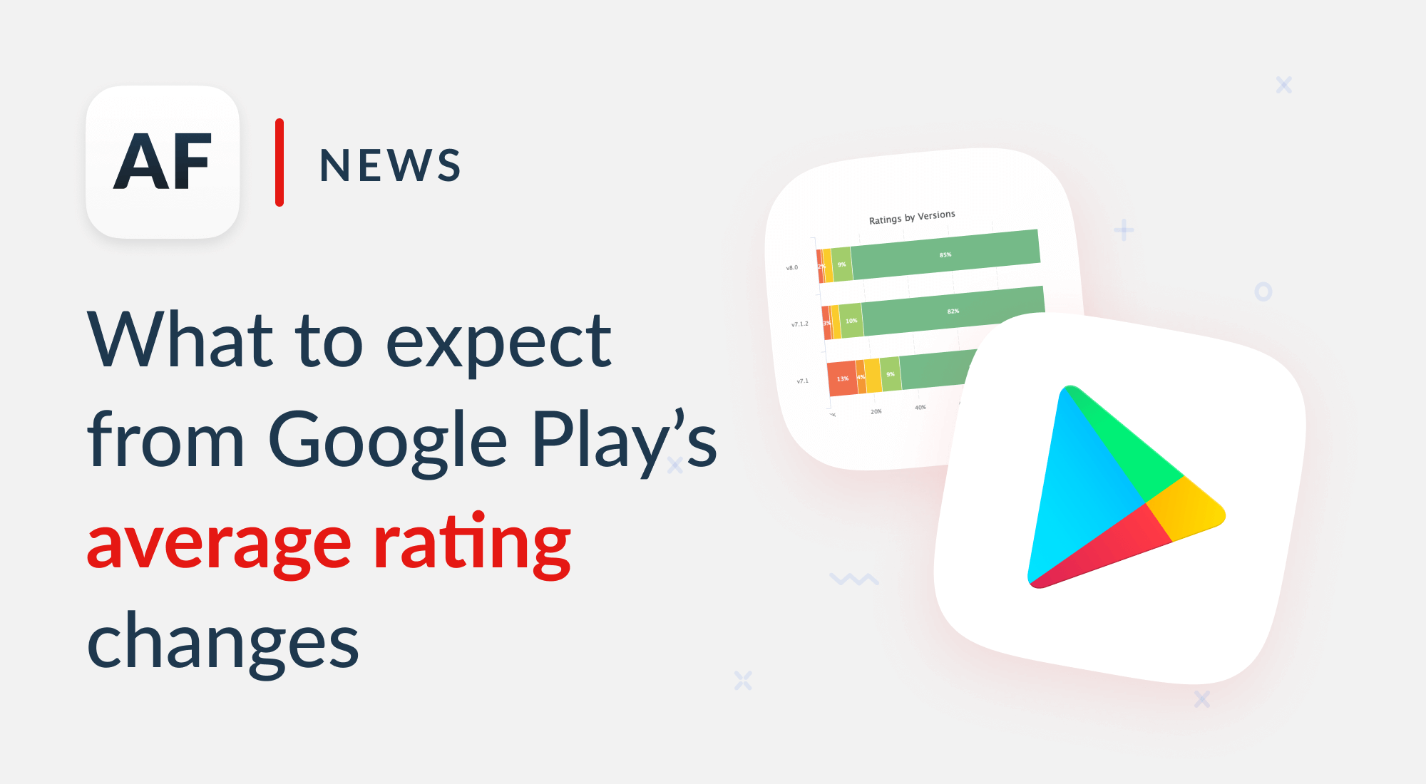 Changes to Google Play average rating: how to prepare
