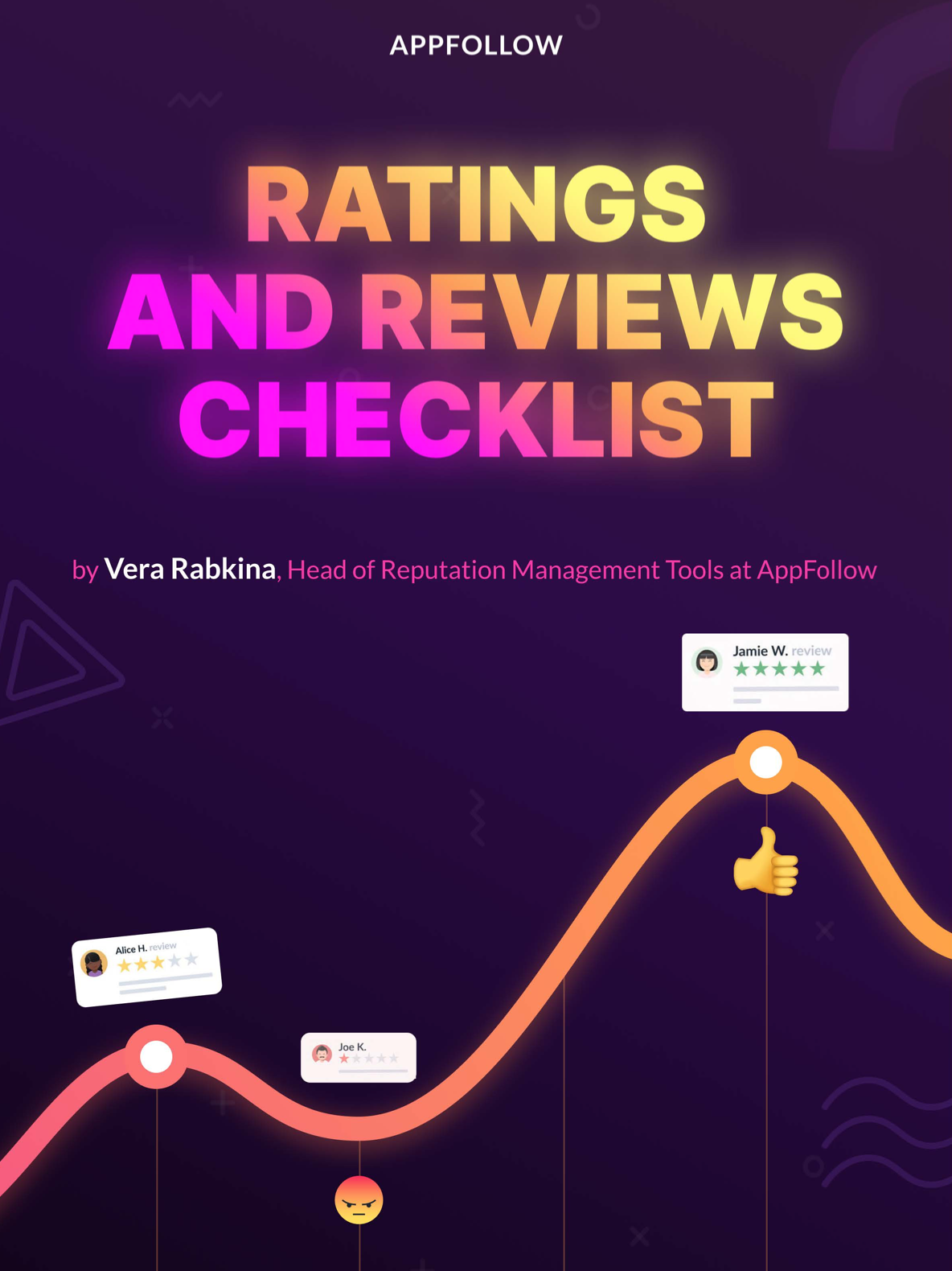 A checklist on how to respond to app store reviews