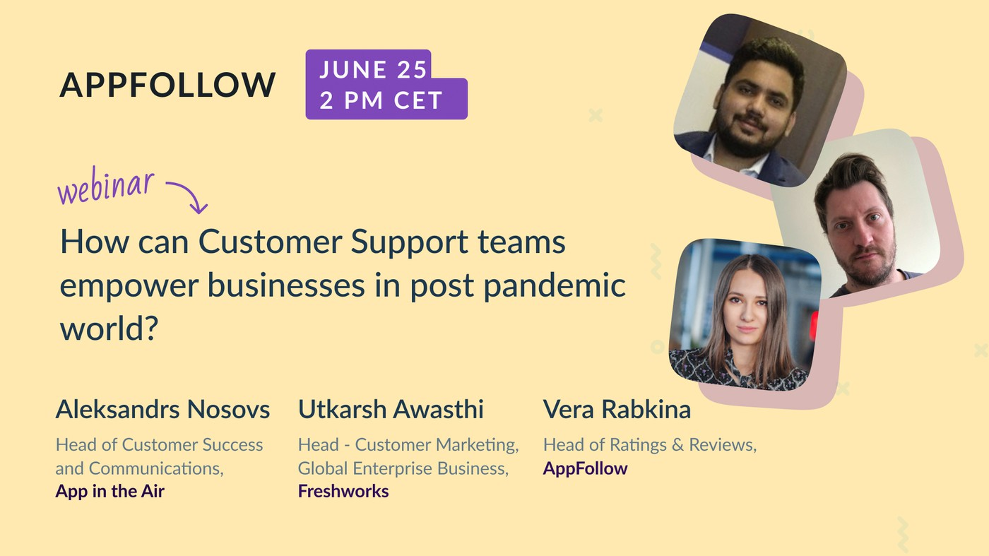 "Webinar for Customer Support: ""How should businesses look at customer experience in the post-pandemic world?"""