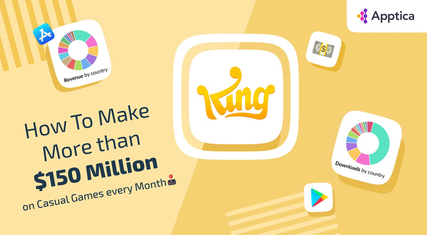 How to make more than $150 million on Casual Games every month: King's case study