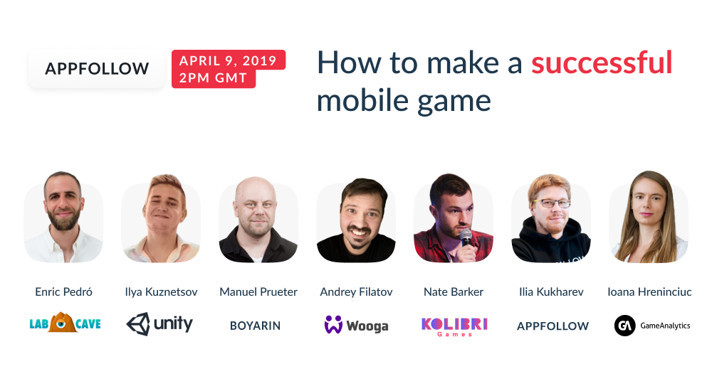 Webinar Recording: How to Make a Successful Mobile Game?