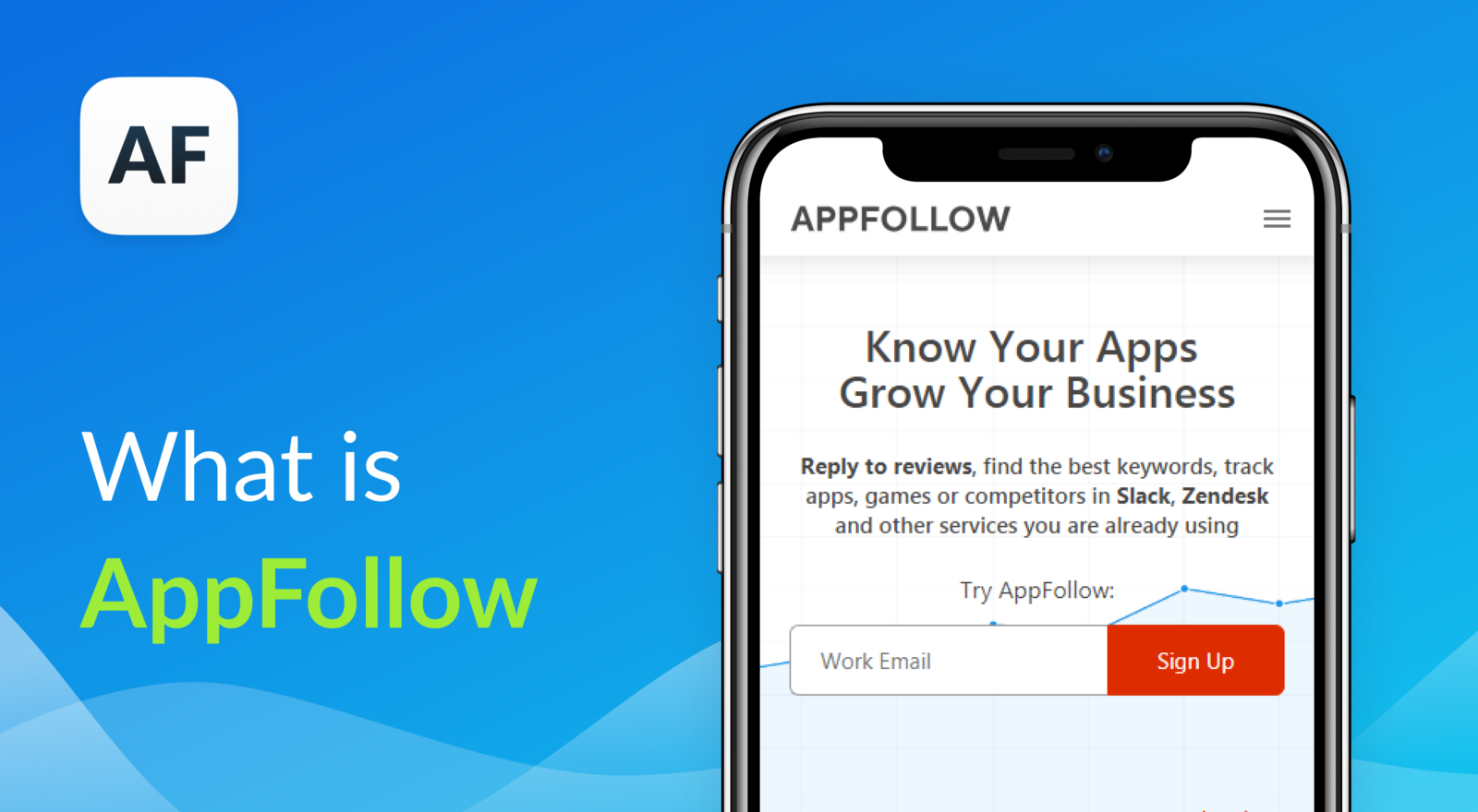 AppFollow is a product management tool for app promotion and app store optimization